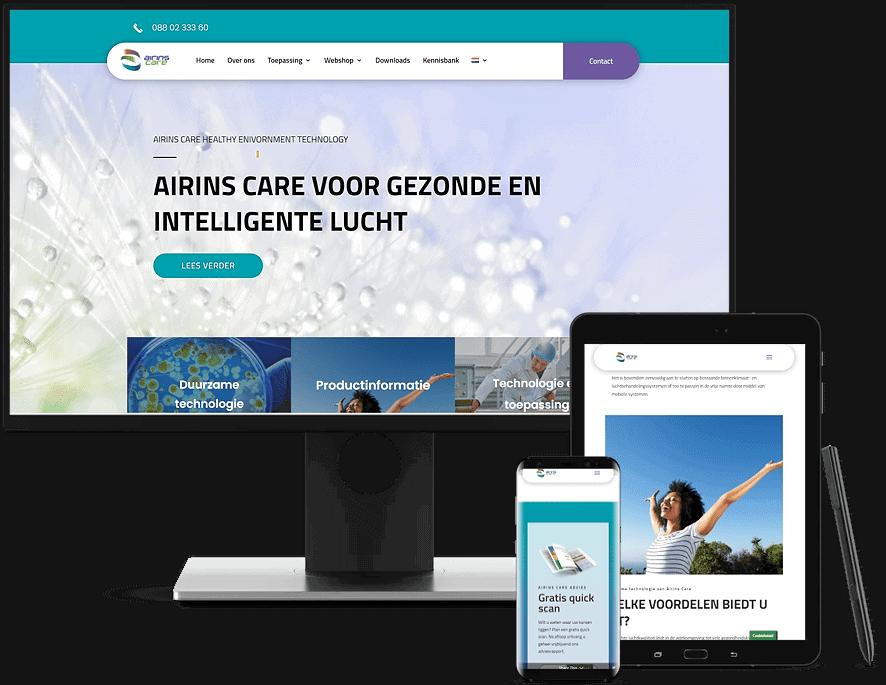 Airinscare website