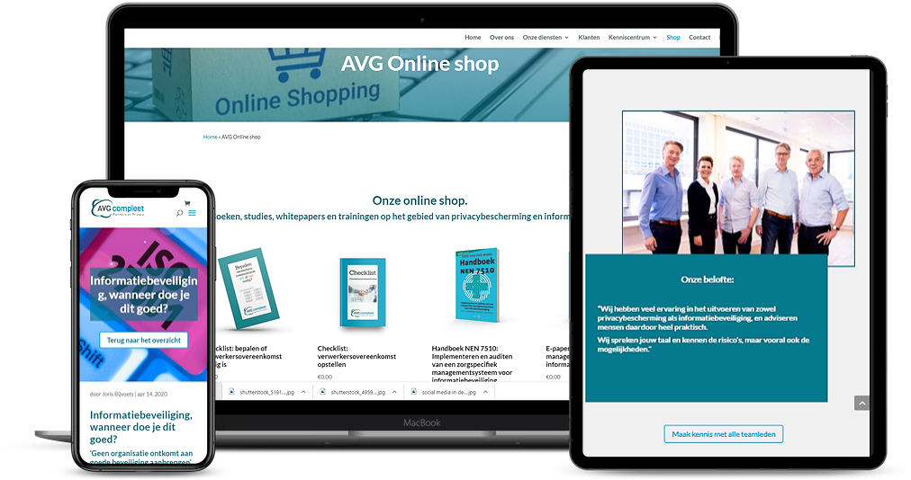Website avg compleet